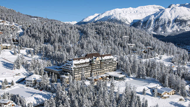 Suvretta House, St Moritz, Launches New Olympics Experience this Winter