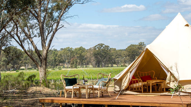 Balgownie Estate Bendigo Launches Glamping in Victoria, Australia