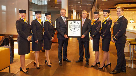 Lufthansa is the only five-star airline in Europe