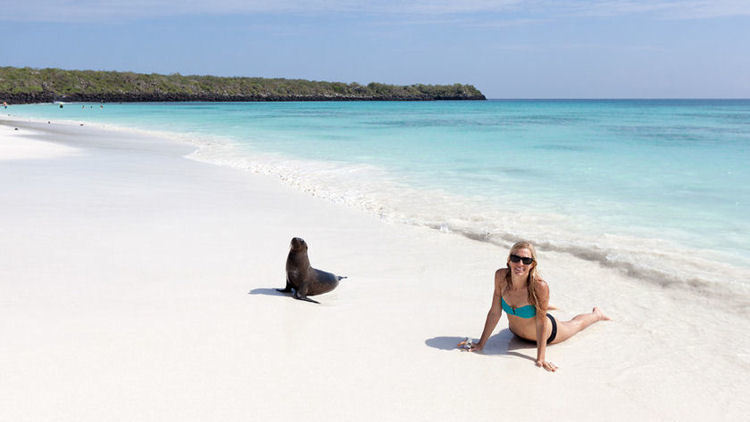 Yoga and Wellness Cruise on the Finest Yacht in the Galapagos