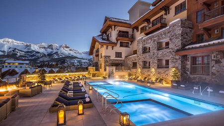 Living High in Telluride with Gold, Bubbles and Wellness Shots