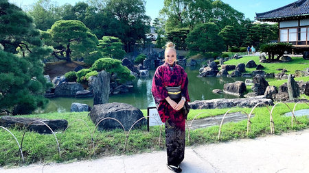 Luxe Kimono-Clad Adventures in the Far East