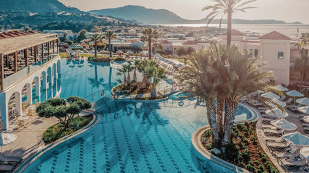 Lindos Imperial Resort & Spa Reopens for Family Adventure