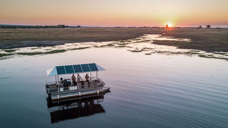 Chobe Game Lodge Completes its Fleet of Solar Powered Electric Boats