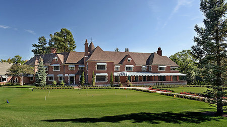Over-the-Top, Luxe Easter Getaway To The Broadmoor's 12,000sf Estate House