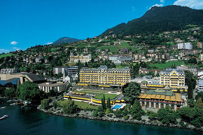 Fairmont Le Montreux Palace - Montreux, Switzerland - 5 Star Luxury Hotel