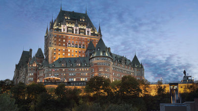 Fairmont Le Chateau Frontenac - Quebec City, Canada - Luxury Hotel