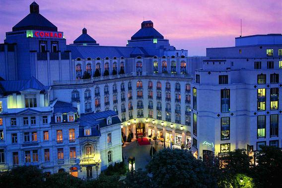 Conrad Brussels Belgium 5 Star Luxury Hotel Slide 3