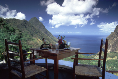 Ladera Resort - Soufriere, St. Lucia, Caribbean - Luxury Boutique Hotel