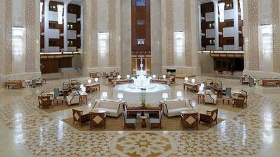 Al Bustan Palace, A Ritz Carlton Hotel - Muscat, Oman - 5 Star Luxury Resort Hotel