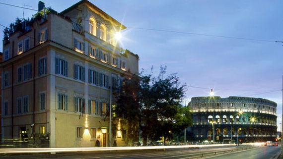 Palazzo Manfredi Rome Italy 4 Star Boutique Luxury Hotel