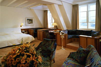Suvretta House - St. Moritz, Switzerland - 5 Star Luxury Hotel