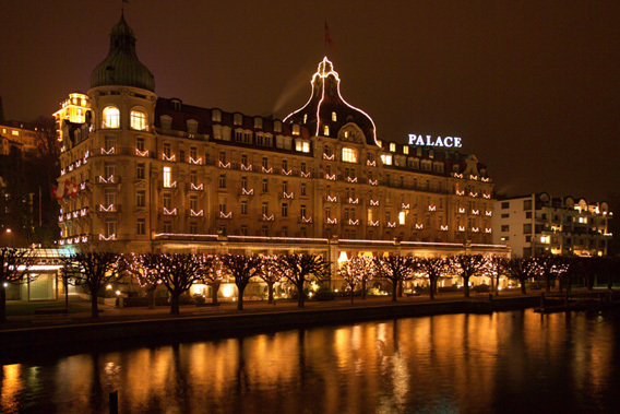 Palace Luzern Lucerne Switzerland 5 Star Luxury Hotel Slide 2