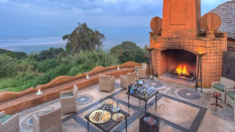 andBeyond Ngorongoro Crater Lodge - Serengeti, Tanzania - Luxury Safari Lodge-slide-8