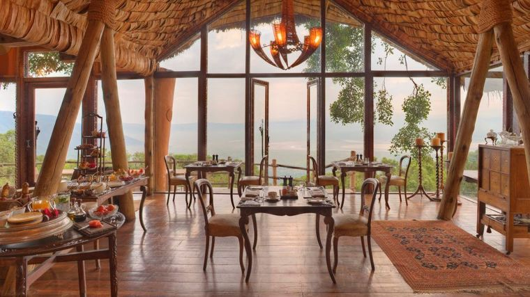 andBeyond Ngorongoro Crater Lodge - Serengeti, Tanzania - Luxury Safari Lodge-slide-5
