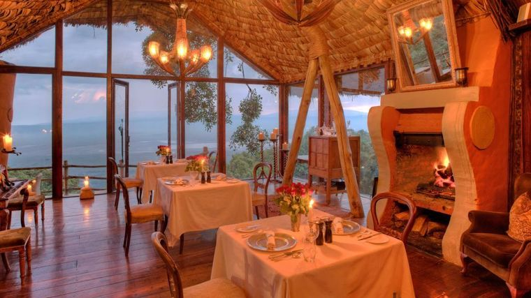 andBeyond Ngorongoro Crater Lodge - Serengeti, Tanzania - Luxury Safari Lodge-slide-1