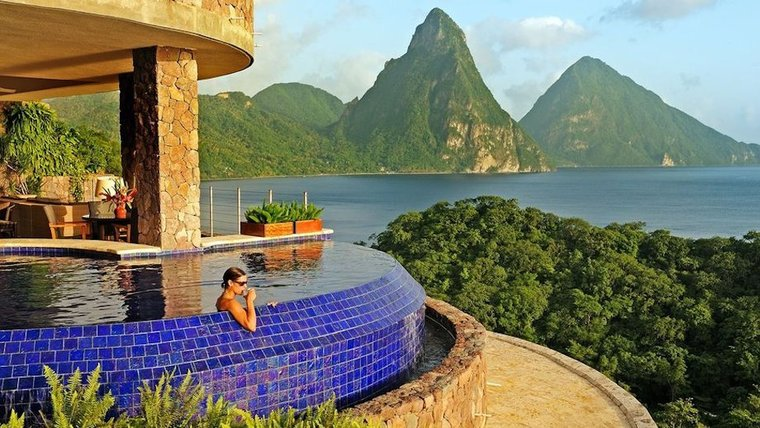 Jade Mountain - St. Lucia - Caribbean Exclusive 5 Star Luxury Resort-slide-1