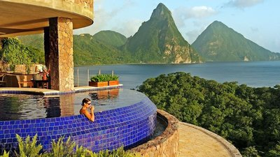 Jade Mountain - St. Lucia - Caribbean Exclusive 5 Star Luxury Resort