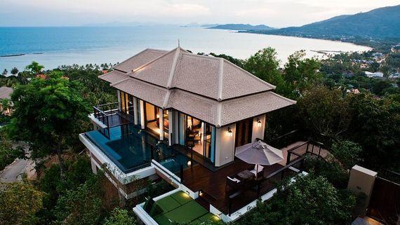 banyan tree samui koh samui thailand 5 star luxury resort spa
