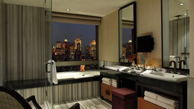 Amazing Hotel Bathrooms With A View