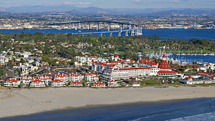 Hotel del Coronado & Beach Village at The Del - San Diego, California-slide-1