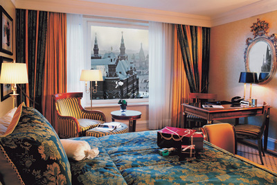 The Ritz Carlton Moscow, Russia 5 Star Luxury Hotel