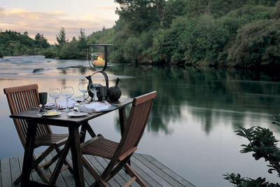 Huka Lodge - Taupo, North Island, New Zealand - Exclusive 5 Star Luxury Lodge