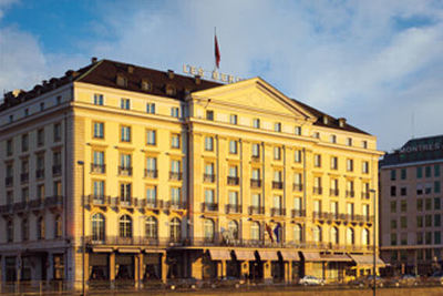 Four Seasons Hotel des Bergues - Geneva, Switzerland