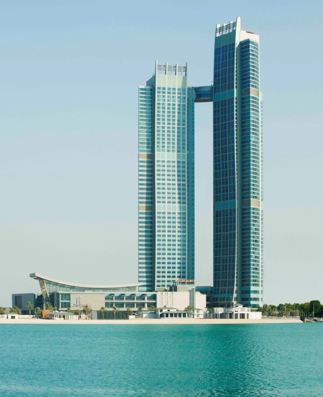 The St. Regis Abu Dhabi towers exterior daytime