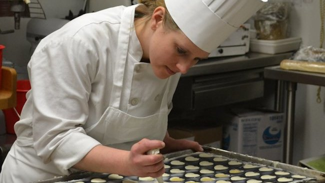 Skytop Lodge pastry chef