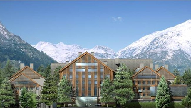 New hotel defines chalet chic and elevates the swiss alps for Design hotels alps