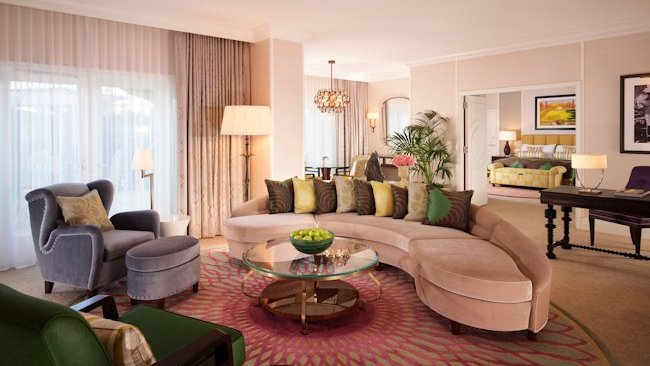 The Beverly Hills Hotel suite