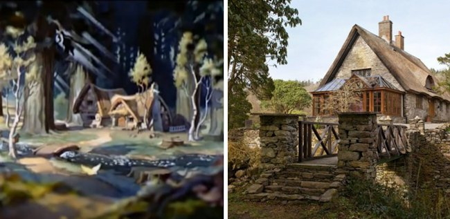 Disney dwelling come to life