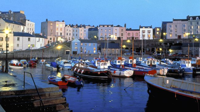 Town of Tenby Wales