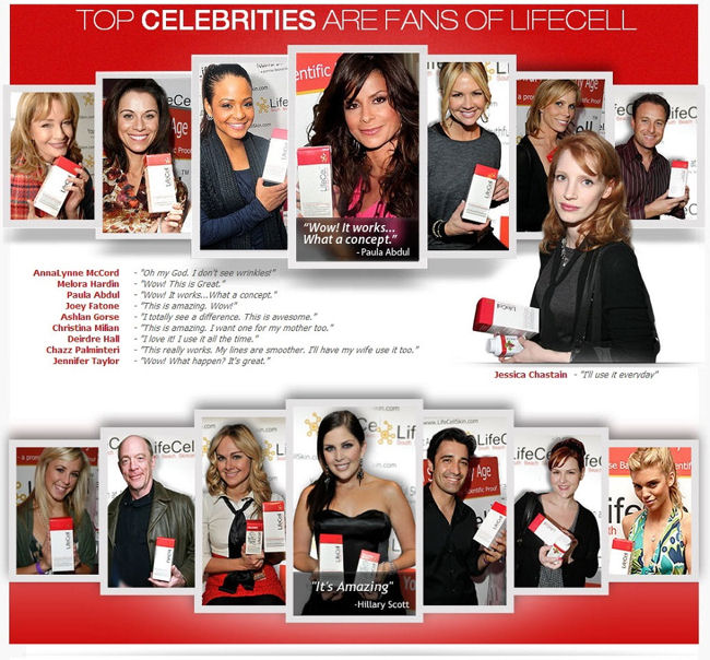 Celebrities love Lifecell