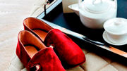 Shangri-La Hotel, At The Shard, London Introduces Luxury Slippers by Beatrix Ong
