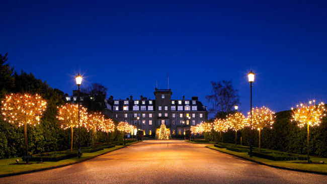 Spending The Holidays At The Gleneagles Hotel, Scotland