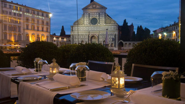 JK Place Firenze restaurant