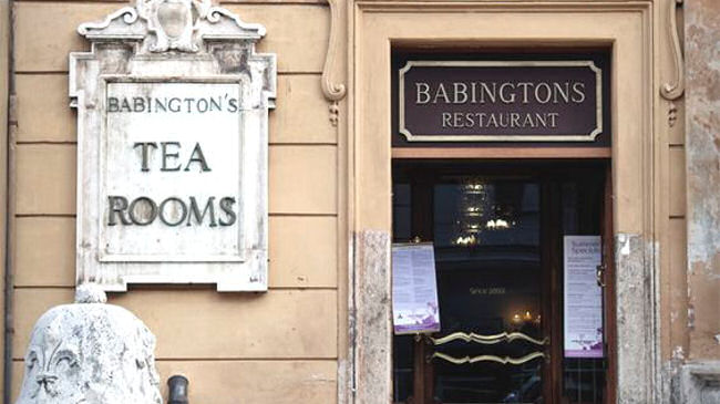 Babington tea Room