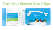Turn Your Shower into a Spa with ESSIO Aromatherapy Diffuser