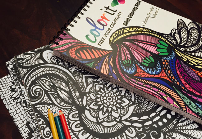 ColorIt Adult Coloring Books
