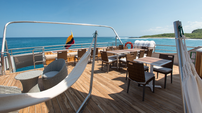 MV Origin sundeck