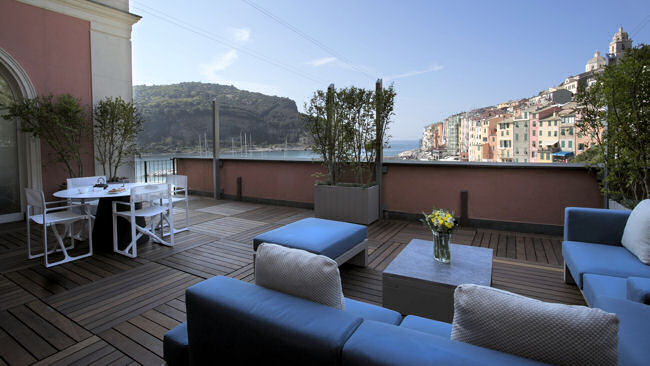 grand hotel portovenere unveils new luxury suites near cinque terre italy. Black Bedroom Furniture Sets. Home Design Ideas