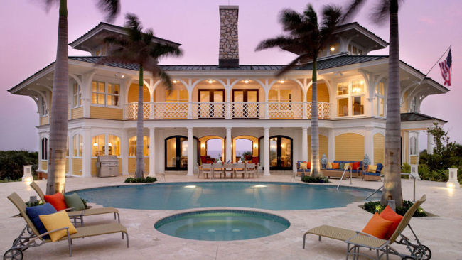 Estate House at The Abaco Club on Winding Bay