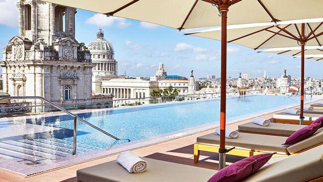 Gran Hotel Manzana Kempinski La Habana pool