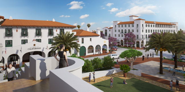 Hotel californian set to open in santa barbara this summer for Independent luxury hotels