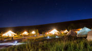 Glamping Solar Eclipse Package at Utah's Conestoga Ranch