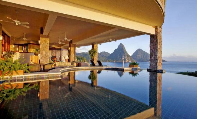Jade Mountain Galaxy Suite JD1