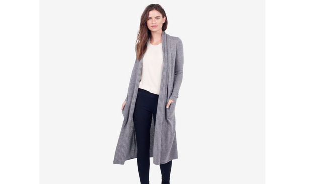 The Reset cashmere duster