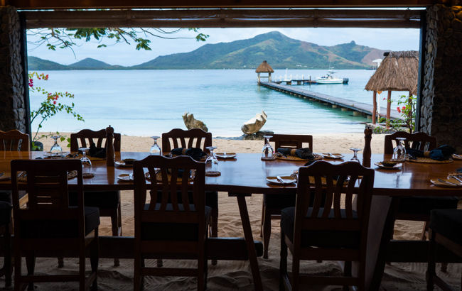 Turtle Island dining view